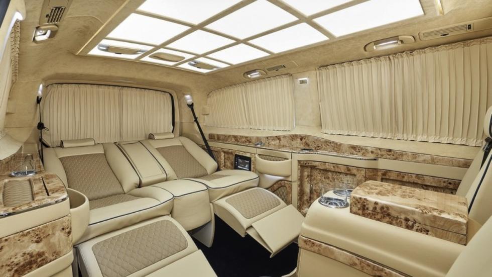 Mercedes Clase V Black Crystal asientos reclinables