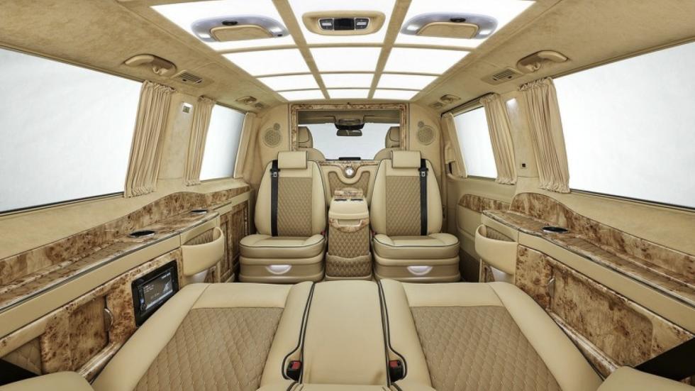 Mercedes Clase V Black Crystal interior
