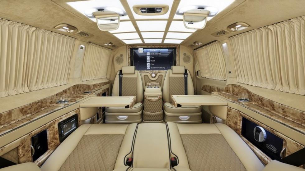 Mercedes Clase V Black Crystal tablas