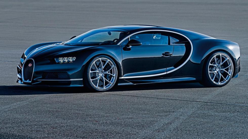 Bugatti Chiron Ginebra 2016