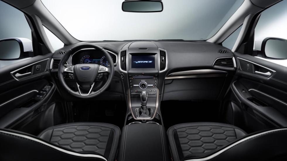 Ford S-Max Vignale habitáculo