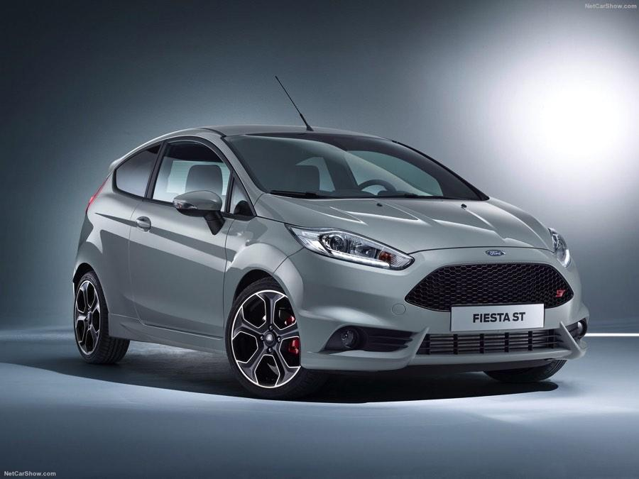 Ford Fiesta ST200 2017 frontal