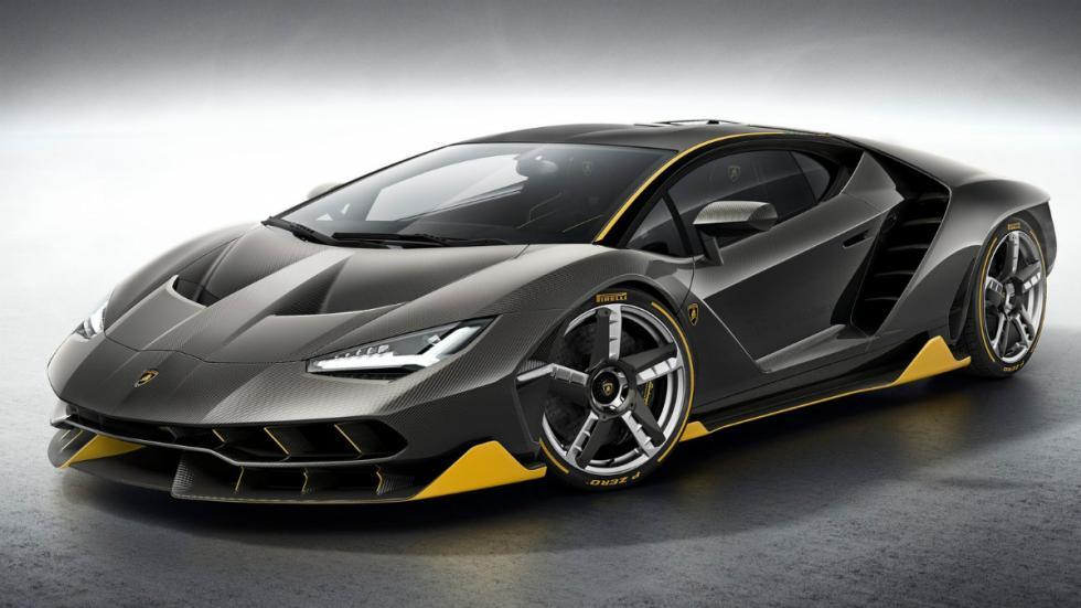 Lamborghini Centenario Lateral