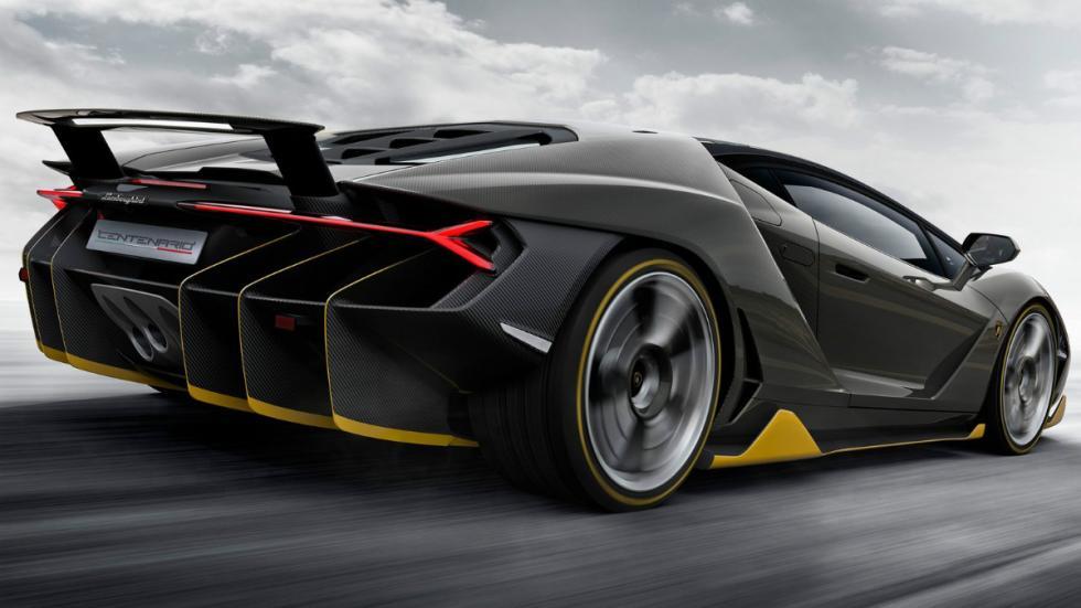 Lamborghini Centenario Trasera