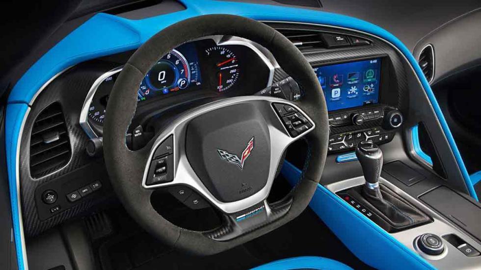Chevrolet Corvette Grand Sport interior