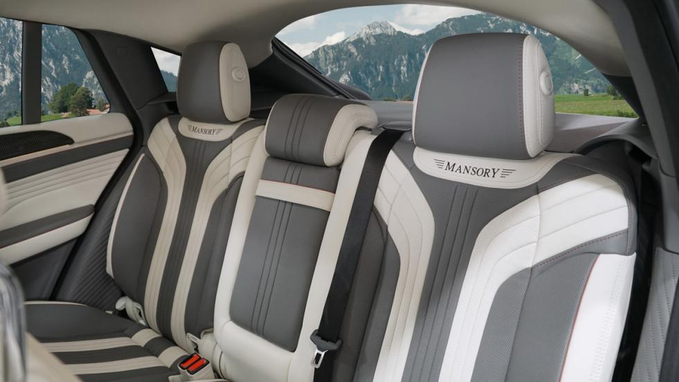 Mansory GLE Coupé, asientos traseros