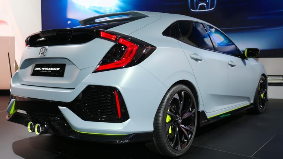 Honda Civic Hatchback Prototype trasera