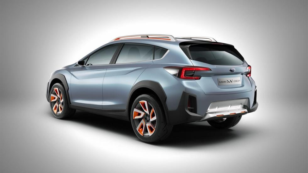 Subaru XV Concept 2016 trasera
