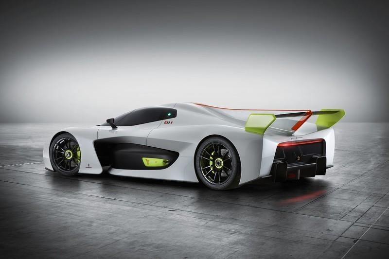 Pininfarina H2 Speed tres cuartos traseros