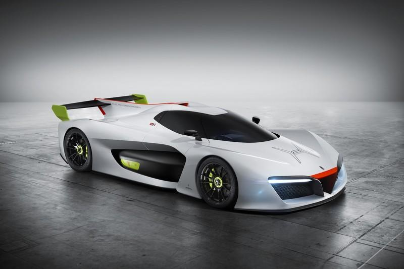 Pininfarina H2 Speed tres cuartos delanteros