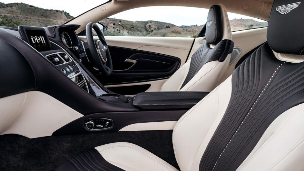 Aston Martin DB11 2016 asientos