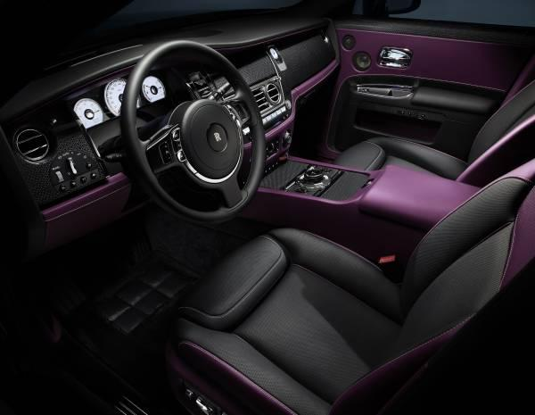 Rolls-Royce Black Badge interior