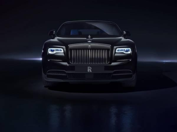 Rolls-Royce Black Badge morro