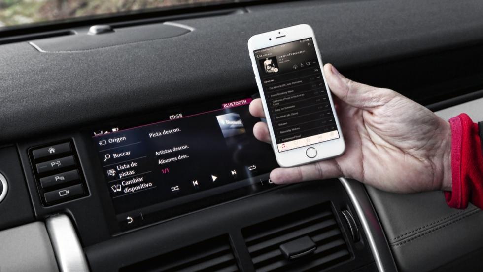 Land Rover Discovery Sport conectividad
