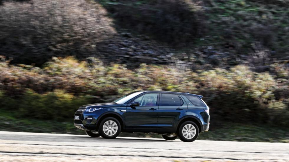 Land Rover Discovery Sport lateral