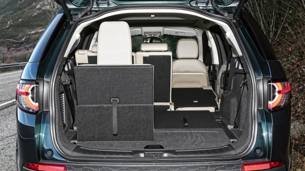 Land Rover Discovery Sport maletero