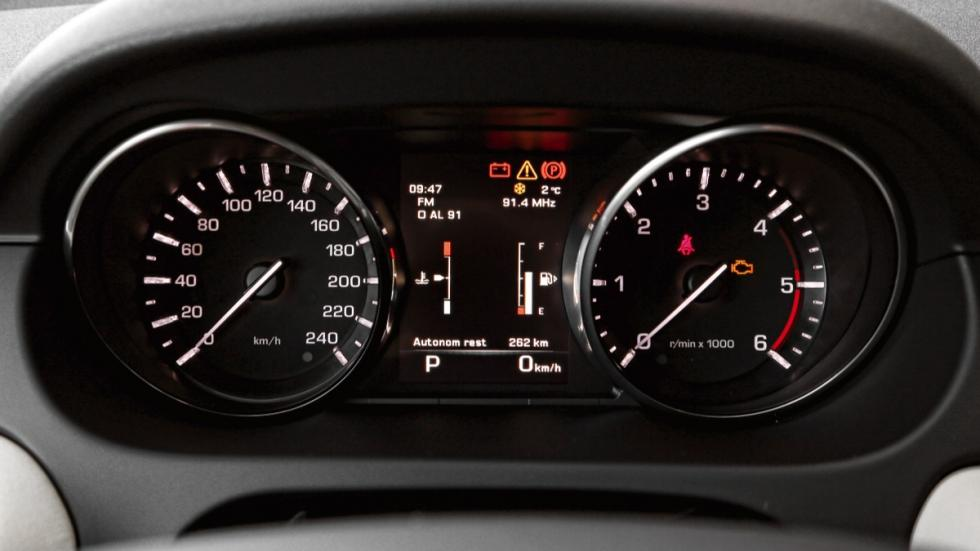 Land Rover Discovery Sport relojes