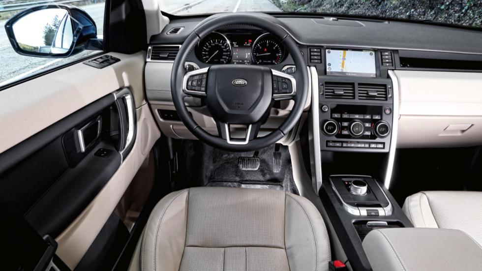 Land Rover Discovery Sport salpicadero