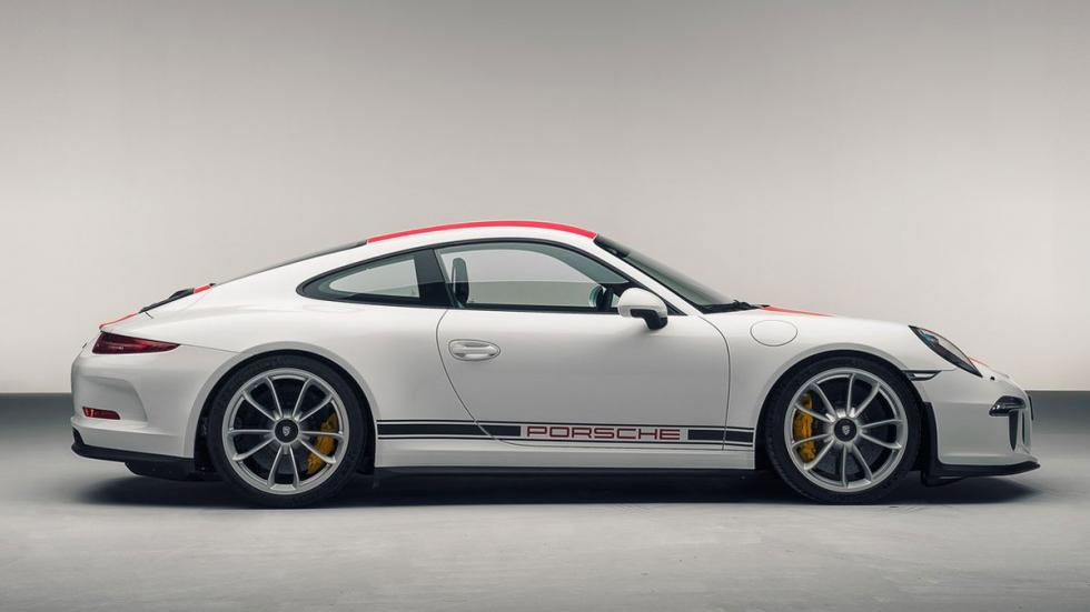 Nuevo Porsche 911 R lateral