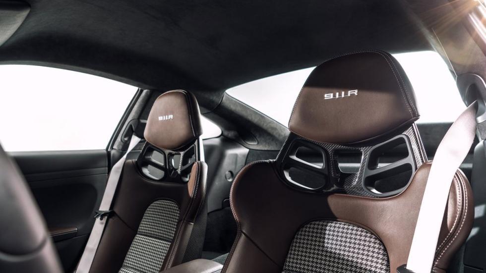 Nuevo Porsche 911 R asientos