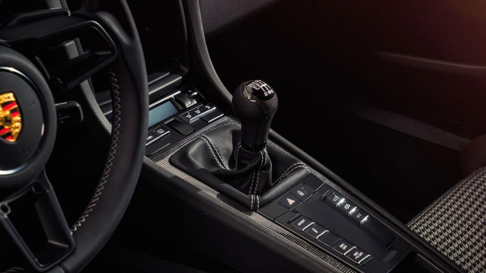 Nuevo Porsche 911 R cambio