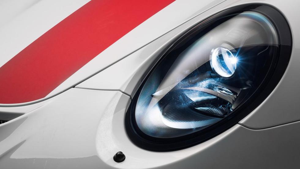 Nuevo Porsche 911 R faro