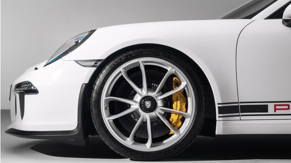 Nuevo Porsche 911 R llanta