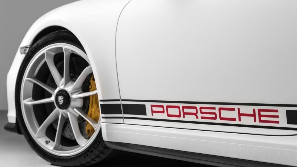 Nuevo Porsche 911 R llantas