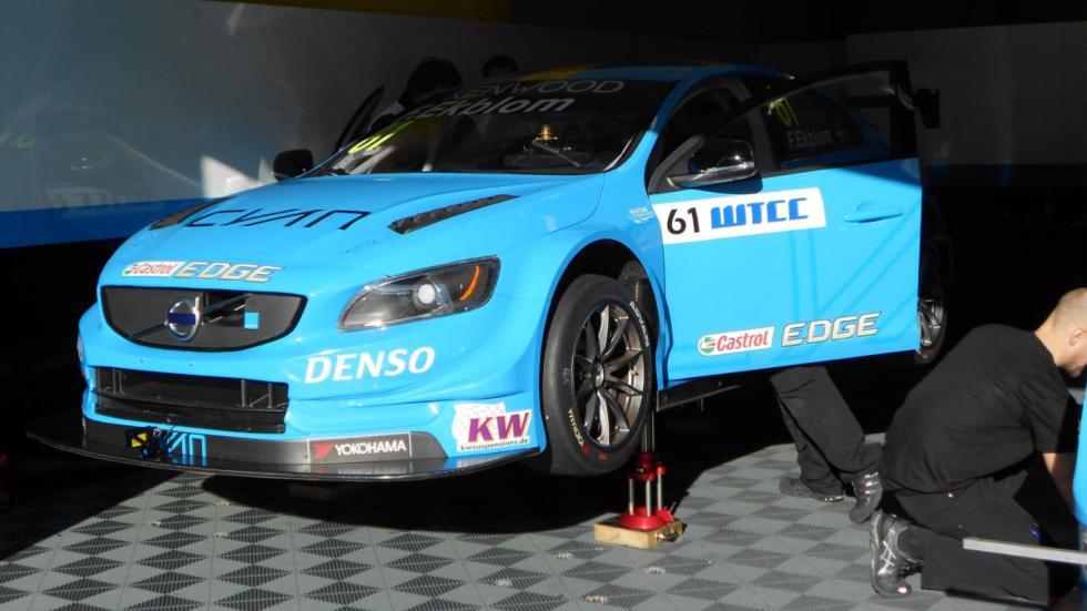 frontal que lucen los WTCC de Volvo