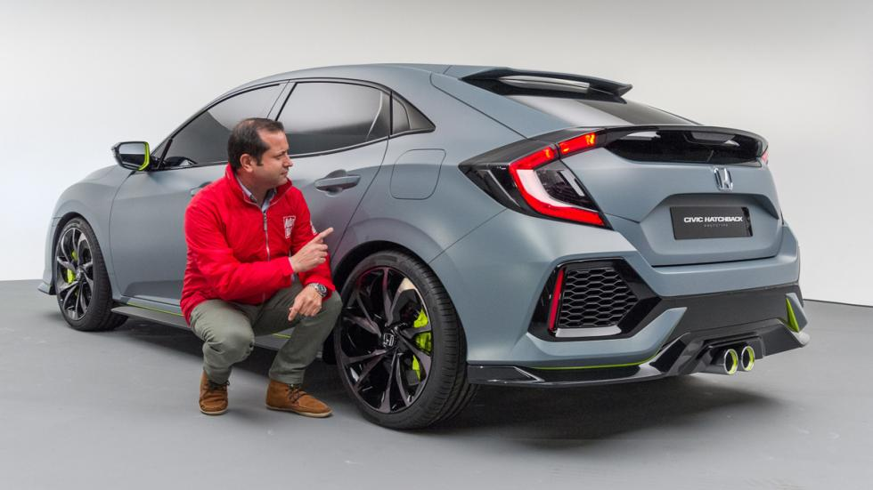 Honda Civic Hatchback Concept 2016