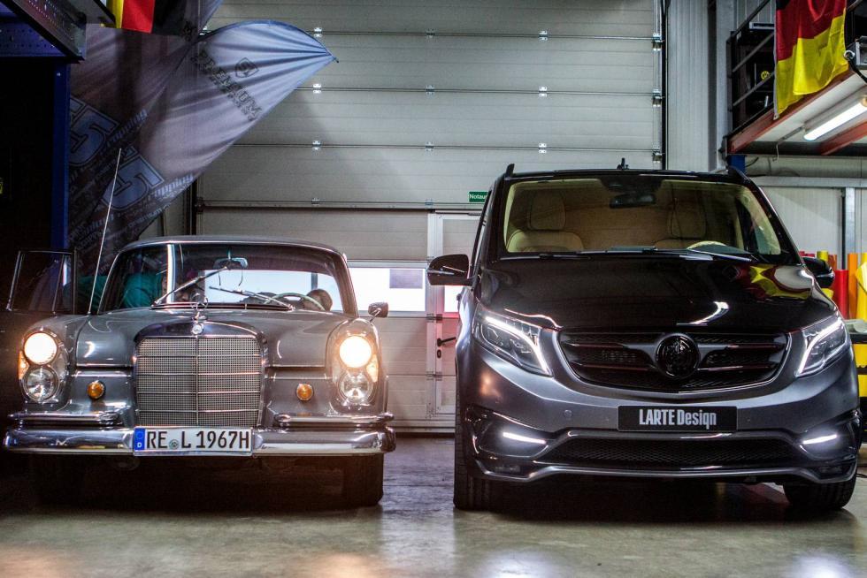 Mercedes Clase V Black Crystal