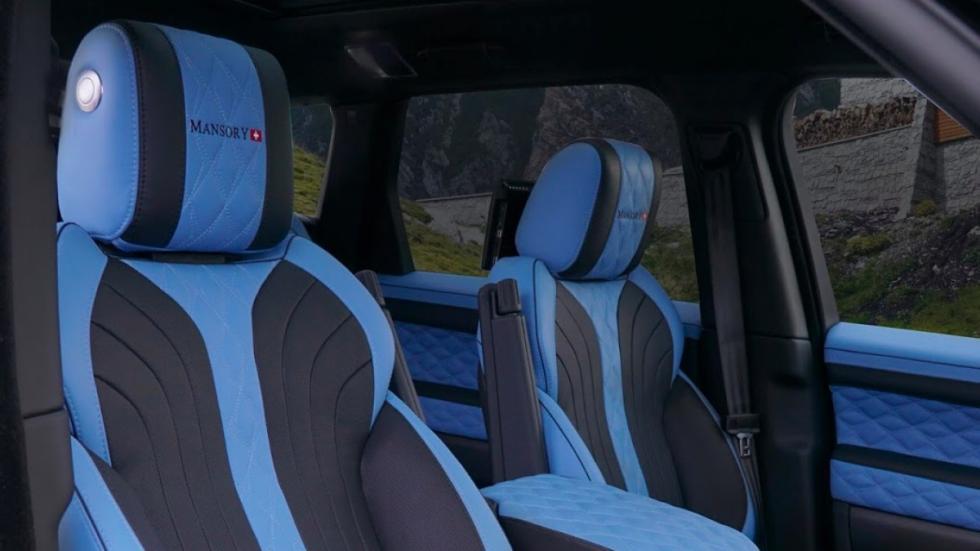 Range Rover Sport Mansory asientos
