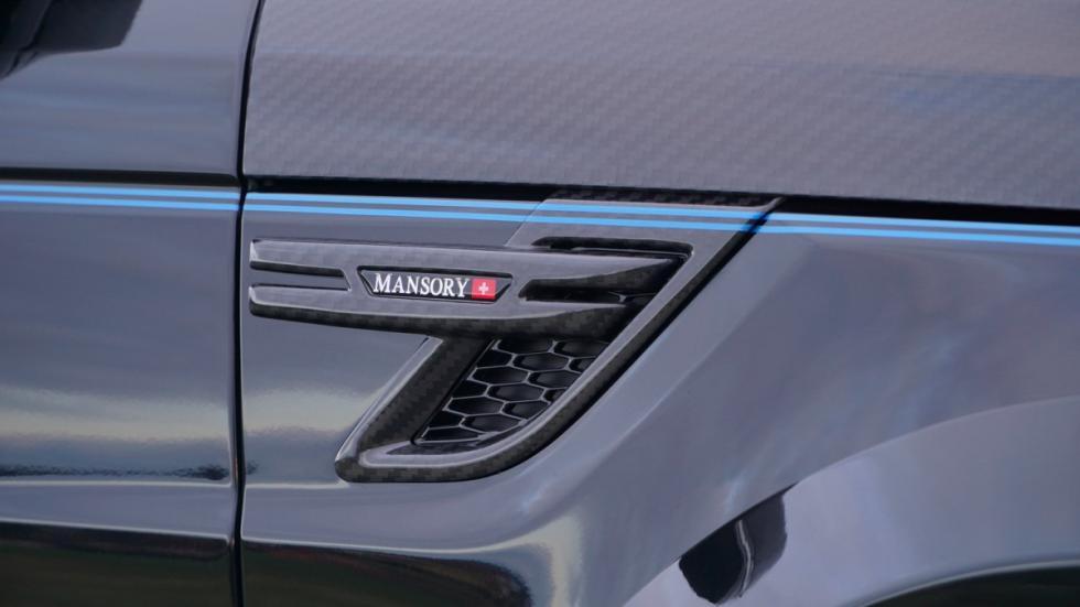 Range Rover Sport Mansory detalle