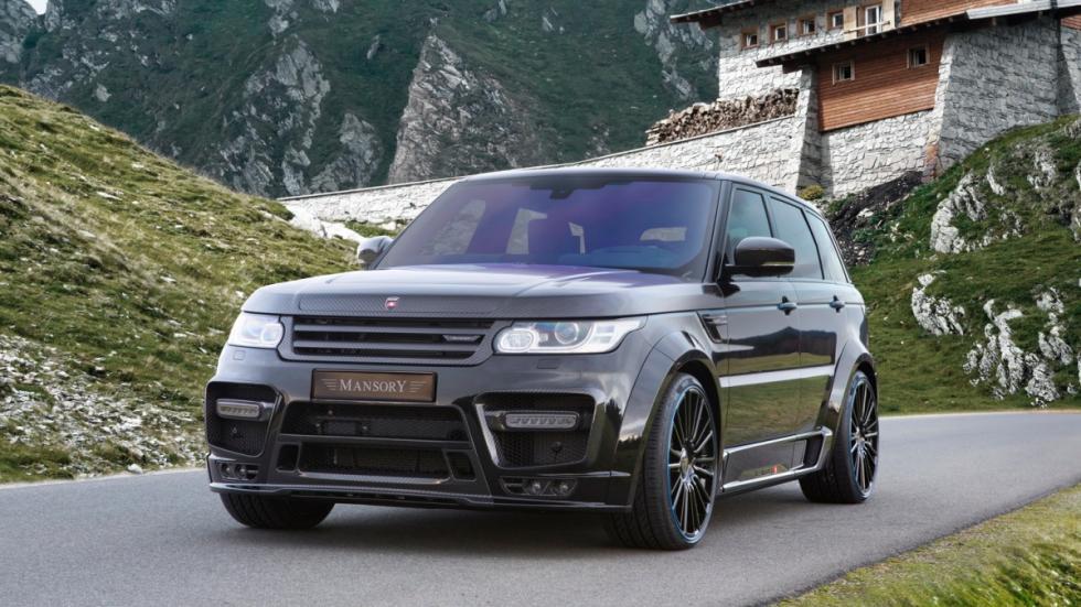 Range Rover Sport Mansory frontal