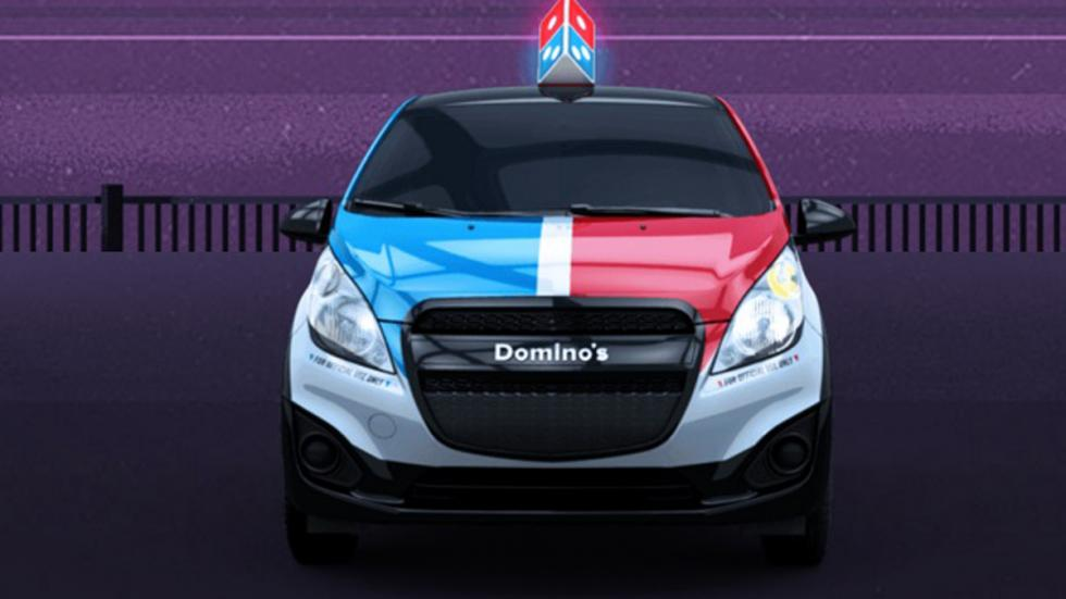 parrilla Domino's DXP