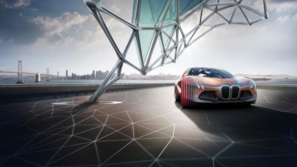 BMW Vision Next 100 dinamica