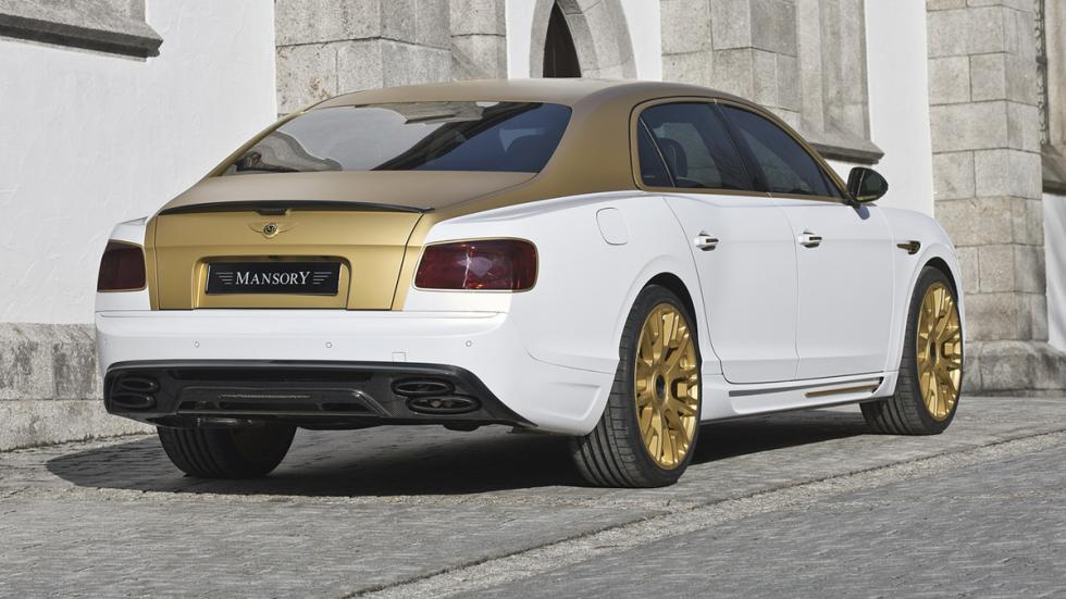 Bentley Flying Spur Mansory trasera