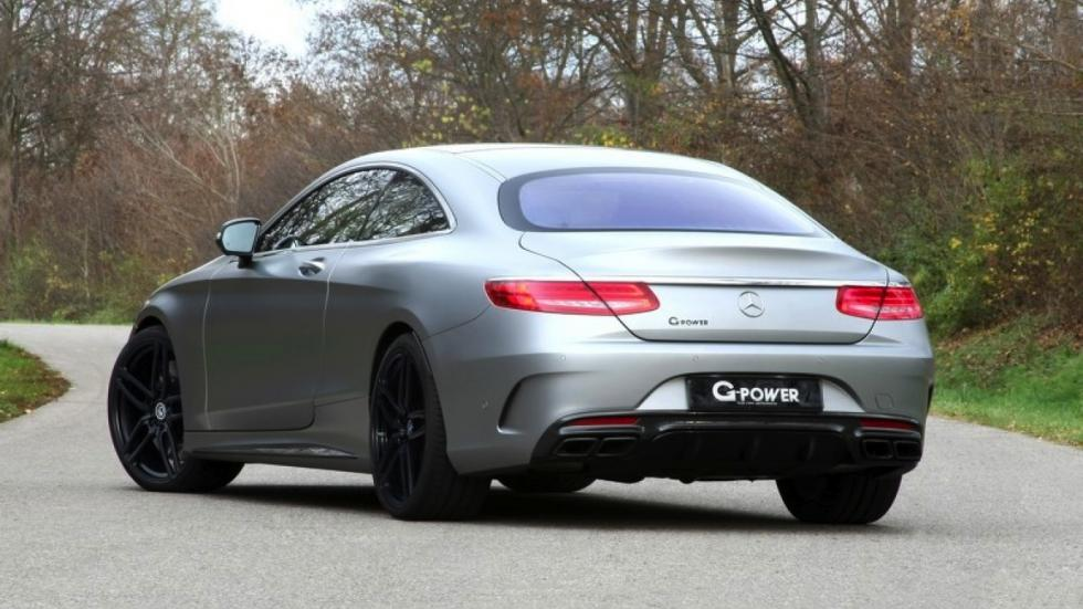 Mercedes-AMG S63 by G-Power trasera