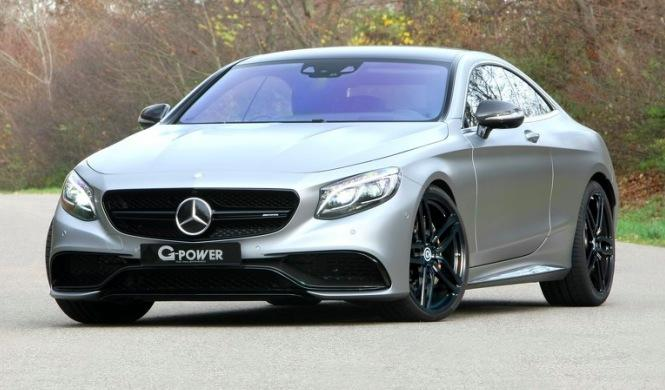 Mercedes-AMG S63 by G-Power frontal
