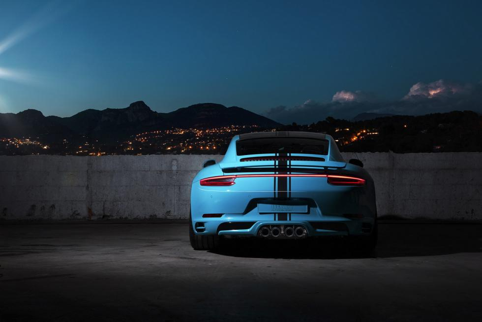 Porsche 911 Carrera  y Turbo by Techart trasera