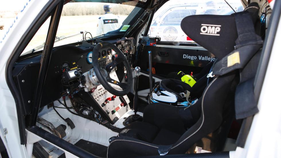 Prueba, Mitsubishi Montero Dakar, interior
