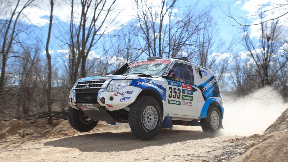 Prueba, Mitsubishi Montero Dakar, dinámica