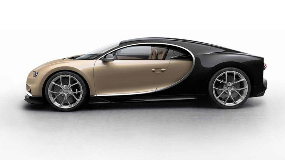 Bugatti Chiron colores