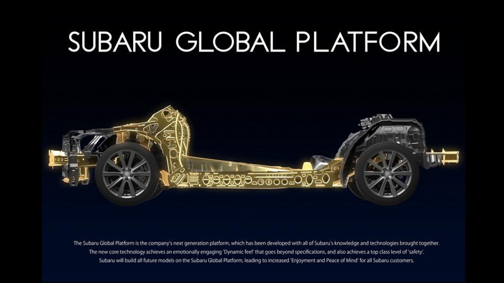 plataforma global Subaru