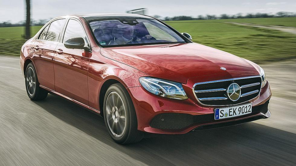 4Prueba: nuevo Mercedes Clase E 2016