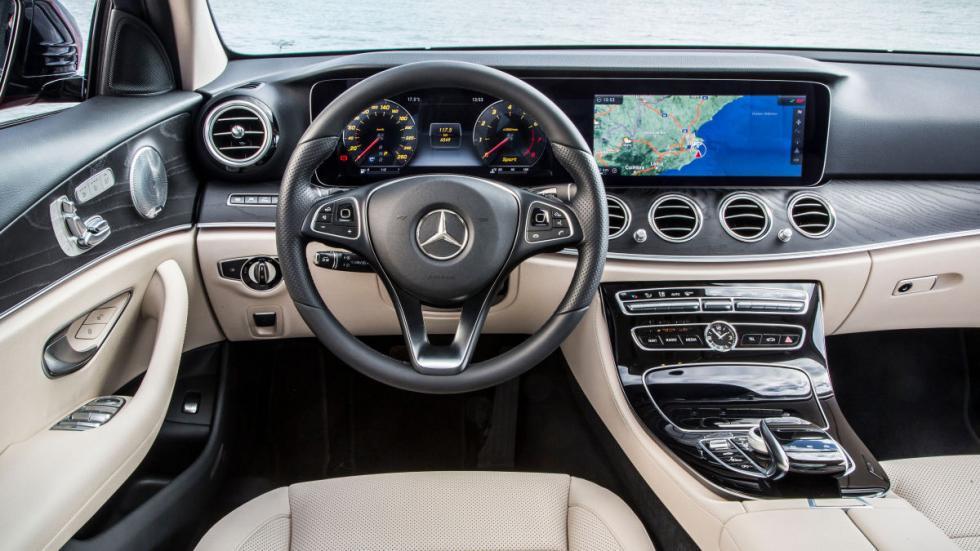 14Prueba: nuevo Mercedes Clase E 2016