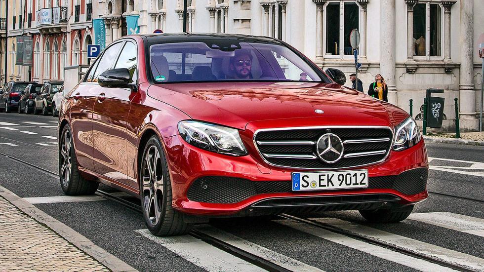 16Prueba: nuevo Mercedes Clase E 2016