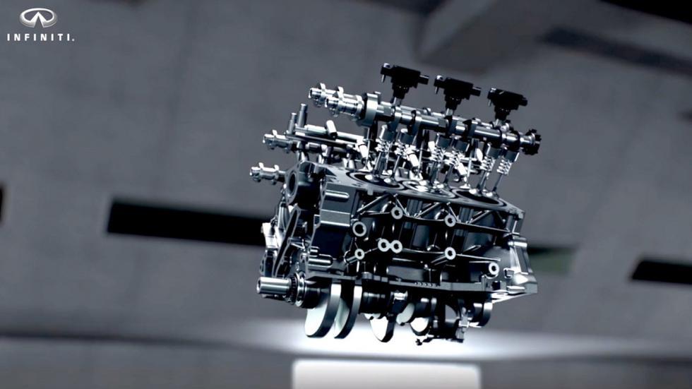 motor V6 Biturbo Infiniti