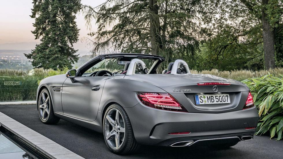 Mercedes SLC 2016 zaga