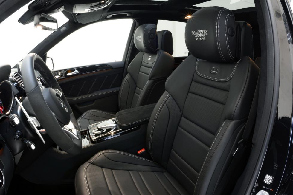 Mercedes-AMG GLE 63 by Brabus interior